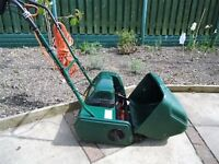 atco windsor lawnmower, self propelled, rear roller, good working condition