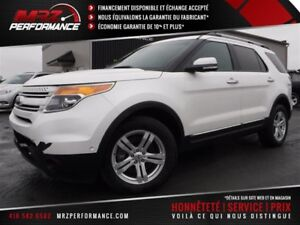 2015 Ford Explorer LIMITED V6 AWD 4WD - Cuir - Toit - GPS - Full