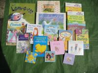 Collection of 18 Colour Hardback Books for Your Young Child - A Mix of 9 books for £5.00