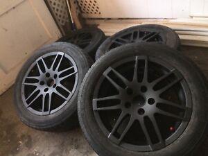 Mags Audi noir mât 16 pouces
