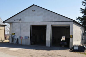 Two bay professional shop for lease on HWY 19S  (401 &19S)
