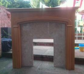 Fire surround, Mantlepiece and harth