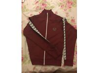 Fred Perry Kids - Sport Authentic Taped Track Jacket