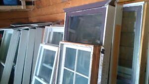 LARGE USED WINDOWS - Camp, cottage, garage!