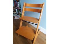 Stokke Tripp Trapp high chair - cherry wood finish
