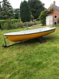 12ft Dingy, fishing boat, day boat etc As New!