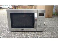 Microwave Oven - Silver Metal