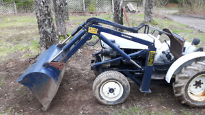 Small tractor satoh made in japan