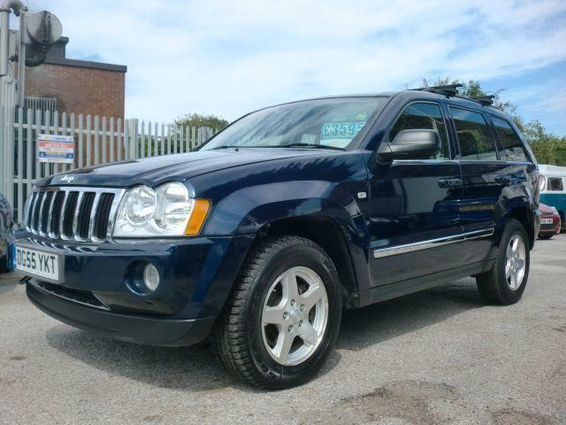 2005 55 JEEP GRAND CHEROKEE 3.0 V6 CRD LIMITED 5D AUTO 215 BHP DIESEL
