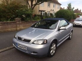 SOFT TOP VAUXHALL ASTRA BEAUTIFUL CAR WITH LOW MILEAGE