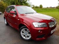 2013 BMW X3 xDrive30d M Sport 5dr Step Auto Full BMW SH! Rear Camera! 5 door...