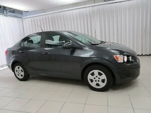 2014 Chevrolet Sonic FEAST YOUR EYES ON THIS BEAUTY!! SEDAN w/ O