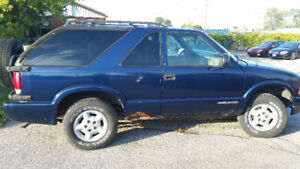1999 Chevrolet Blazer SUV, Crossover - selling AS IS