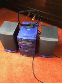 HiFi system complete with CD player Radio for sale