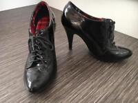 Black UK5 Shoes