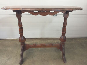 Antique Hall Table  Canadian Made