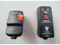 2 x Masterplug RCD plugs, £5 the pair