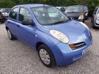 Nissan Micra 1.2 16v S 5dr, FULL SERVICE HISTORY. HPI CLEAR. LADY OWNER. P/X WELCOME