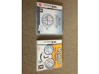 Brain Training and Work Coach (Nintendo DS Games)
