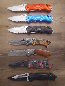 """8.5"""" Military Tactical Rescue Pocket Hunting knife / knives"""