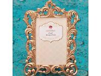 Rose gold frames