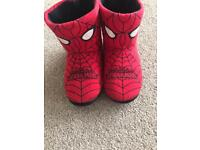 Spider-Man slippers size 12-13