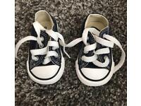Baby Converse size 2 NEW