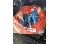 Brand new 25M electric Hook up cable
