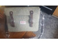 Brand new with tags Harris Tweed laptop bag