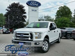 2015 Ford F-150 XLT *1 OWNER* *4x4* *CLEAN*