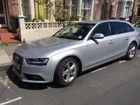 Silver Audi A4 TDI estate - excellent condition, FSH