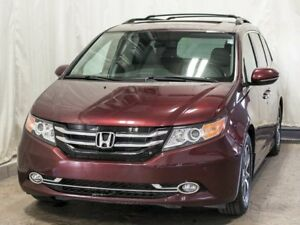 2016 Honda Odyssey Touring 8-Passenger Van w/ Navigation, Leathe