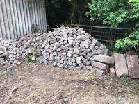 Granite setts and kerbs