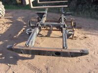 Sand-blasting and painting. Chassis, wheels, farm machinery, gates.
