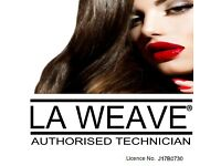 La weave authorised technician (mobile hair dresser)
