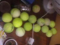 16 Tennis balls - £1