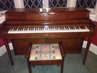 Wurlitzer Piano & Stool