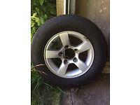 4x Alloy Wheels - 205/70R15
