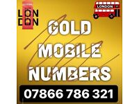 GOLD VIP MOBILE TELEPHONE UK NUMBERS