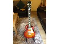Mint condition Epiphone Les Paul Standard Plustop Pro