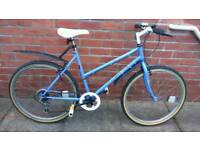 Ladies Townsend Masquerade bike 19 inch frame good working condition and ready to ride