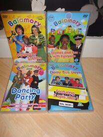 Balamory DVDs x 4