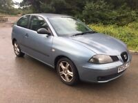 2005 DIESEL SEAT IBIZA SPARES OR REPAIRS STARTS AND DRIVES NO MOT £350 O-N-O