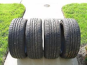 235/45/R19 99 Continental ContiSportContact 4X TIRES