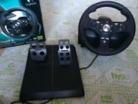 Xbox 360 steering wheel Logitech DriveFx