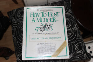 Game - How to Host a Murder - Sealed in Packaging not used