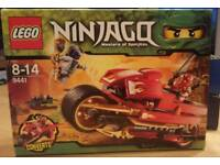 Retired Ninjago 9441 Lego Set 'Masters Of Spinjitzu'