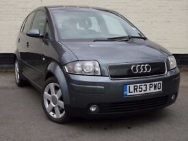 AUDI A2 1.6 FSI SE 5 DOOR HATCHBACK