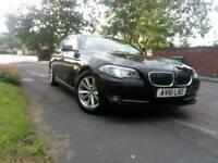 61 Plate Black BMW 520D Efficient Dynamics £9,859. Call 07765862927/07776167391.