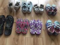 Shoes and flip flops 1£
